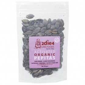 2DIE4 LIVE FOODS Activated Organic Pepitas 100g