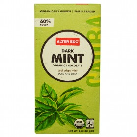 ALTER ECO Chocolate (Organic) Dark Mint 80g
