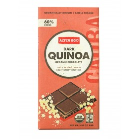 ALTER ECO Chocolate (Organic) Dark Quinoa 80g